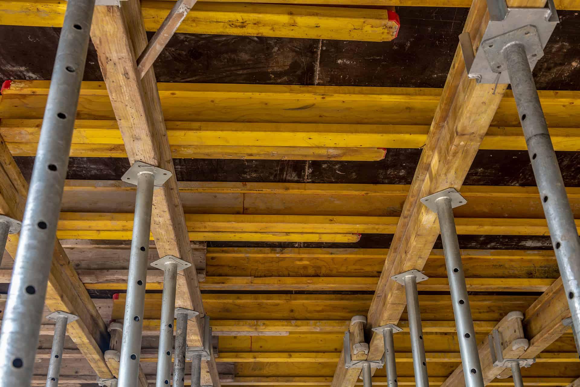 Szalunek stropu